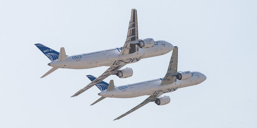 МС-21-300 МС-21-310 МАКС-2021
