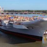 Российская компания завершила монтаж светосигнального оборудования на индийском авианосце «Викрант»