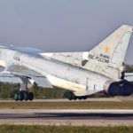 Бомбардировщики Ту-22М3 сбросили полуторатонные бомбы на полигоне «Мулино»