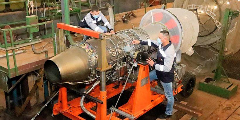 Выполнен первый запуск испытательной установки двигателя АИ-222-25